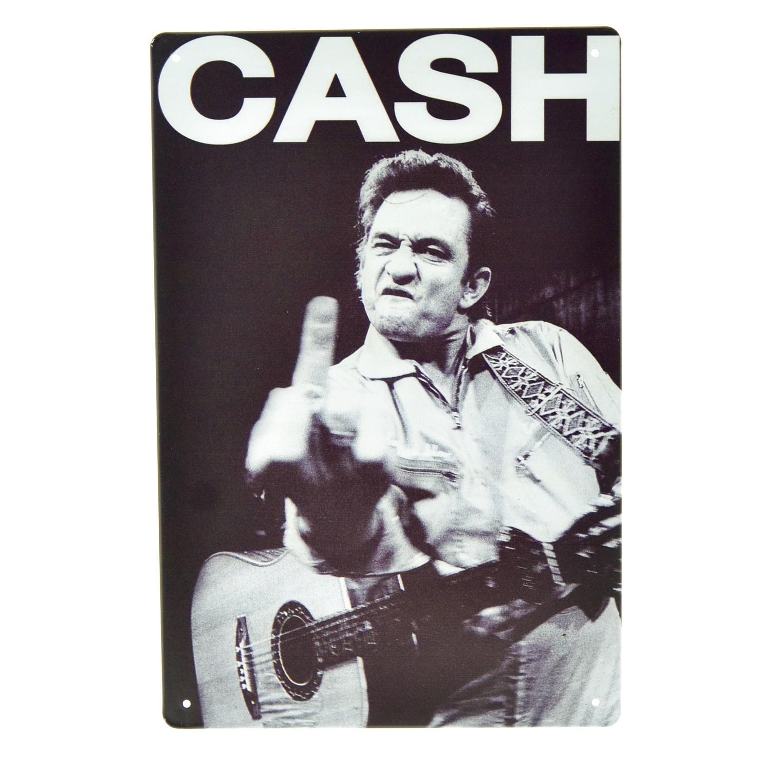 Cartel Metálico de Cash
