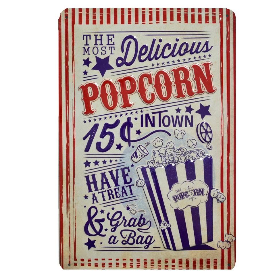 Chapa Vintage Popcorn
