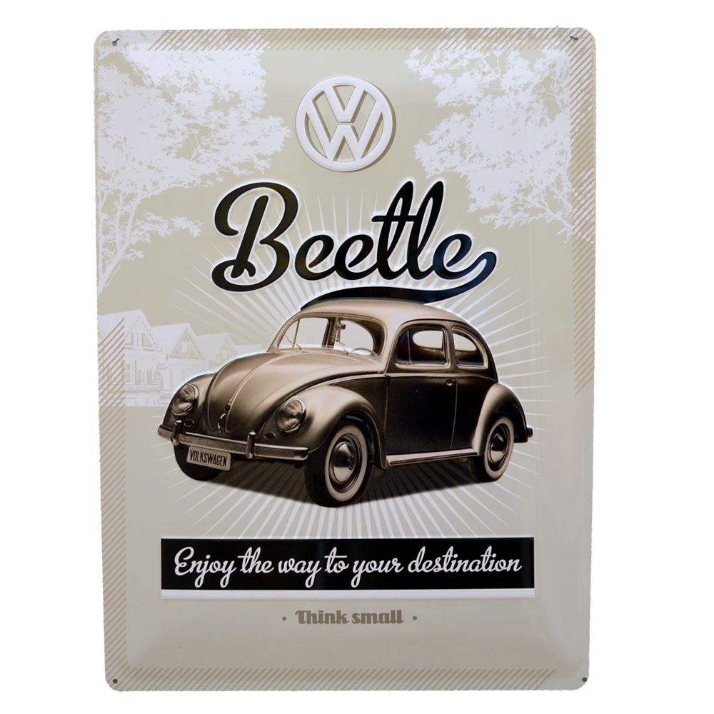 Volkswagen Beetle, Think Small