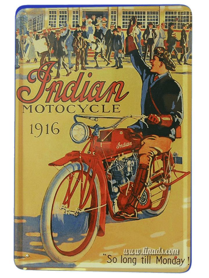 Indian Motorbike 1916