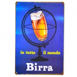 Chapa Metálica Birra