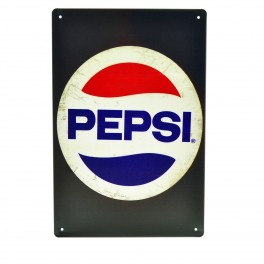 Cartel Metálico de Pepsi