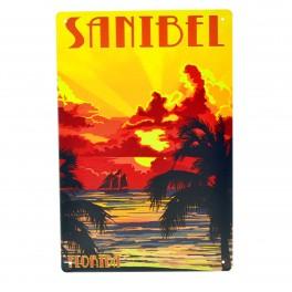 Cartel Metálico de Sanibel