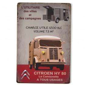 Chapa Metálica Citroen hy80