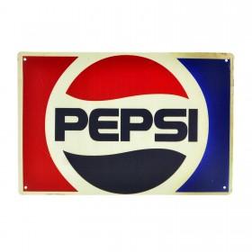 Cartel Metálico de Pepsi horizontal