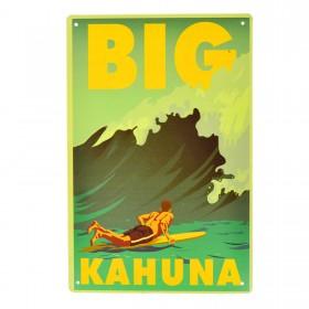 Cartel Metálico de Big Kahuna