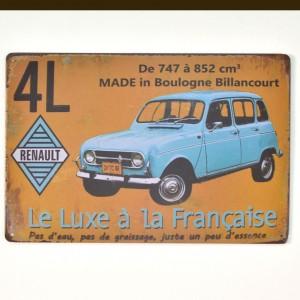 Chapa Metálica Renault 4l