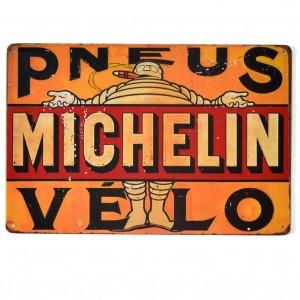 Chapa Metálica Michelin Pneus