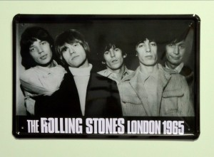 Cartel  Metálico Rolling Stones London 1965