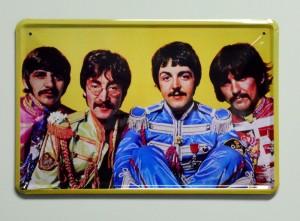 Cartel  Metálico The Beatles Sgt. Pepper