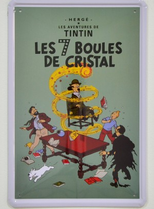 Tintin, The 7 Crystal Balls