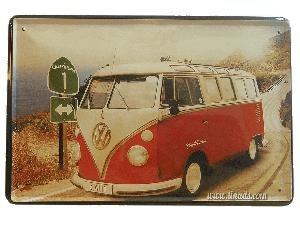 Vw Bus Roja