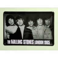 Cartel  Metálico Rolling Stones London 1965