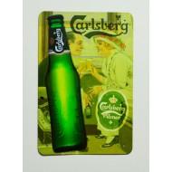 Cartel  Metálico Cerveza Carlsberg
