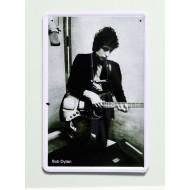 Cartel  Metálico Bob Dylan