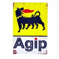 Cartel Metálico de Agio