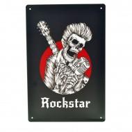 Cartel Metálico de Rockstar