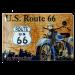 Cartel Publicitario Us Route 66