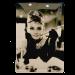 Cartel Publicitario Audrey Hepburn
