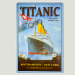 Cartel Metálico Titanic