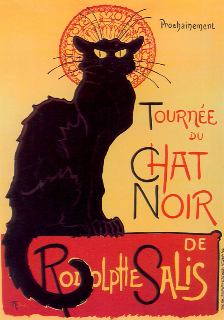 "Cartel ""Le Chat Noir"""
